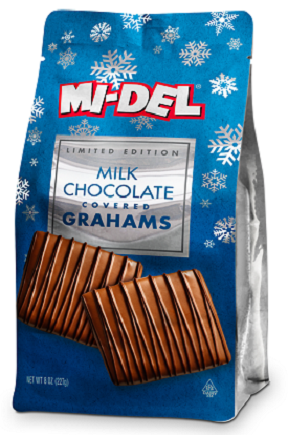 Milk Chocolate Covered Grahams